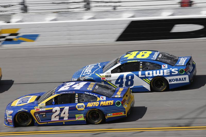 chase elliott 39 s inaugural clash concludes with top 10 finish at daytona napa know how blog. Black Bedroom Furniture Sets. Home Design Ideas