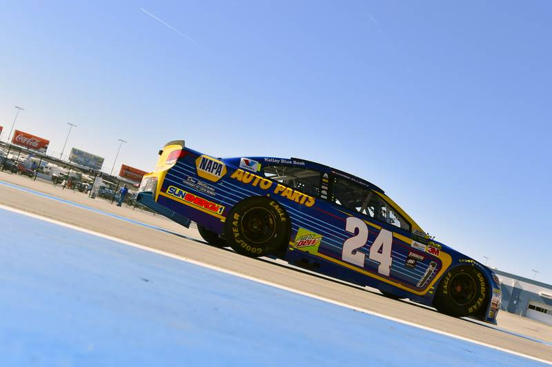 2017 Monster Energy NASCAR Cup Series - Kobalt 400 Las Vegas Motor Speedway - Las Vegas, NV USA Saturday 11 March 2017 Chase Elliott World Copyright: Nigel Kinrade/NKP