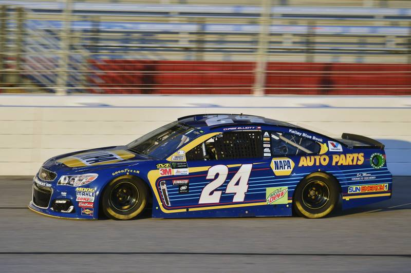 2017 Monster Energy NASCAR Cup Series - Fold of Honor QuikTrip 500 Atlanta Motor Speedway, Hampton, GA USA Friday 3 March 2017 Chase Elliott World Copyright: Nigel Kinrade/NKP