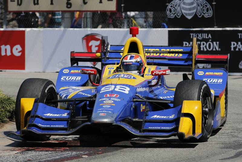 2017 Verizon IndyCar Series Toyota Grand Prix of Long Beach Streets of Long Beach, CA USA Sunday 9 April 2017 Alexander Rossi World Copyright: Perry Nelson/LAT Images