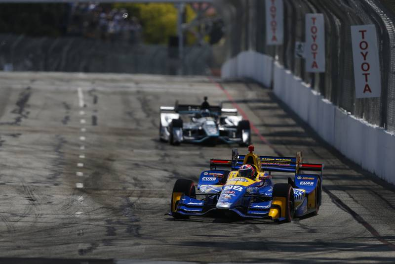 2017 Verizon IndyCar Series Toyota Grand Prix of Long Beach Streets of Long Beach, CA USA Sunday 9 April 2017 Alexander Rossi World Copyright: Jake Galstad/LAT Images