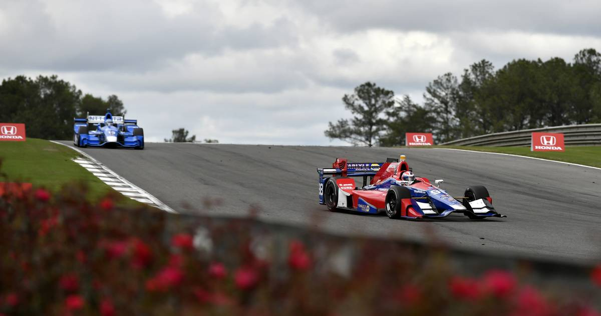 2017 Verizon IndyCar Series Honda Indy Grand Prix of Alabama Barber Motorsports Park, Birmingham, AL USA Sunday 23 April 2017 Alexander Rossi, Andretti Herta Autosport with Curb-Agajanian Honda World Copyright: Scott R LePage LAT Images ref: Digital Image lepage-170423-bhm-6348