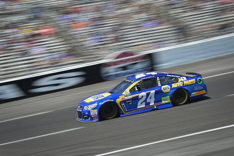 2017 Monster Energy NASCAR Cup Series O'Reilly Auto Parts 500 Texas Motor Speedway, Fort Worth, TX USA Sunday 9 April 2017 Chase Elliott World Copyright: Logan Whitton/NKP