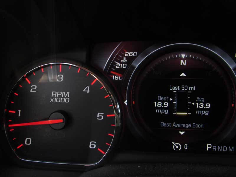 Start the engine and let it idle until it reaches operating temp, usually around 200 degrees.
