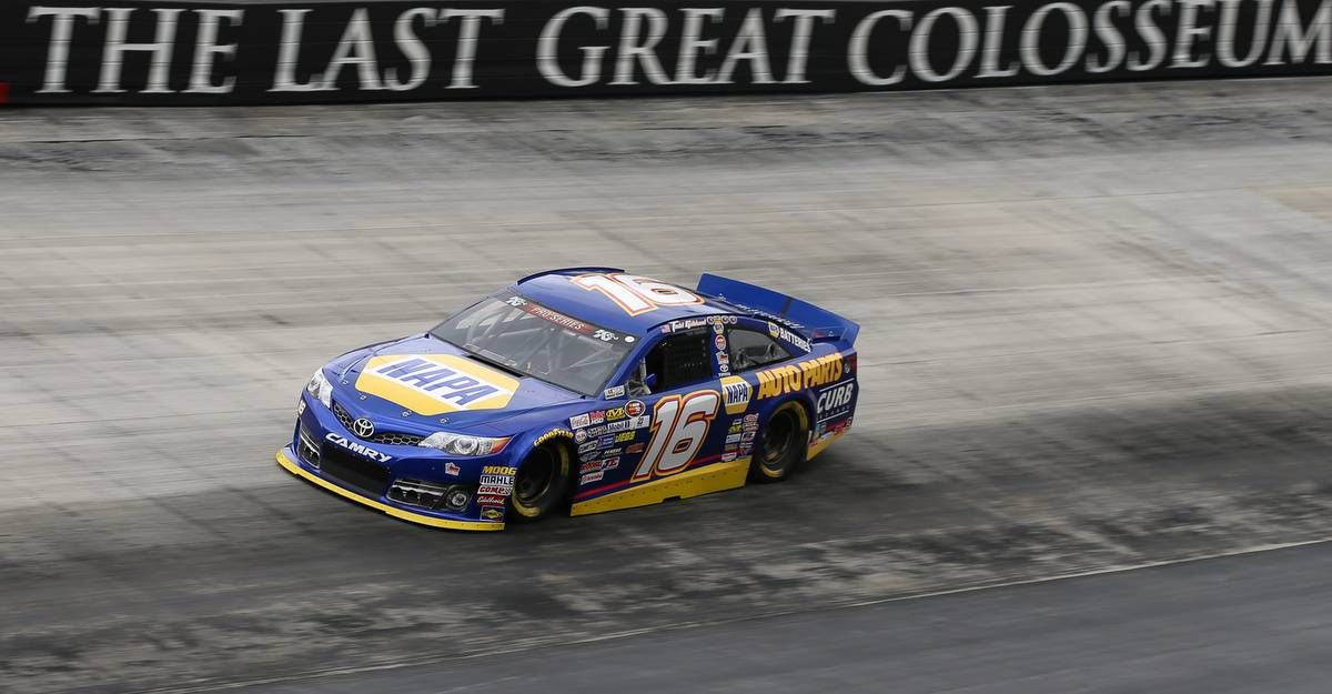 Gilliland Charges to 8th-Place Finish in Rain-Shortened K&N East Race at Bristol