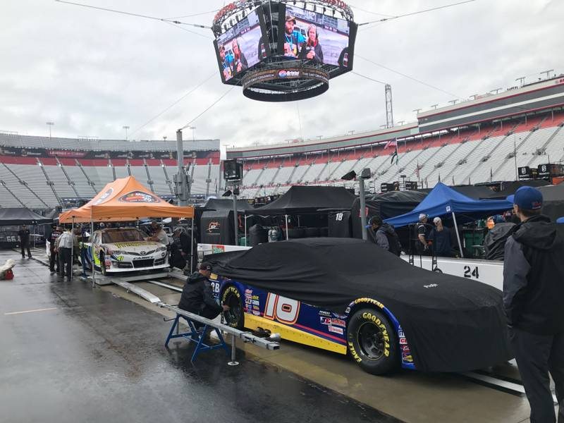 K&N East Race at Bristol was rained out