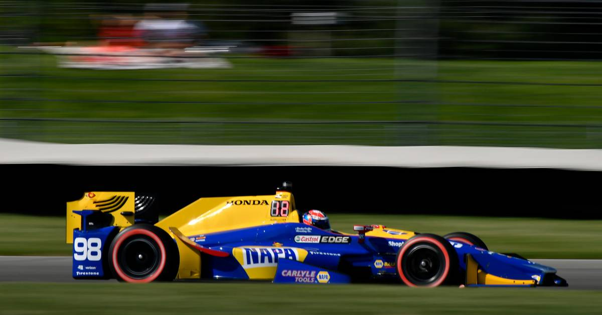Verizon IndyCar Series IndyCar Grand Prix Indianapolis Motor Speedway, Indianapolis, IN USA Friday 12 May 2017 Alexander Rossi, Andretti Herta Autosport with Curb-Agajanian Honda World Copyright: Scott R LePage LAT Images ref: Digital Image lepage-170512-indy-3132