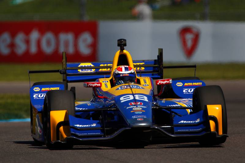 Verizon IndyCar Series IndyCar Grand Prix Indianapolis Motor Speedway, Indianapolis, IN USA Saturday 13 May 2017 Alexander Rossi, Andretti Herta Autosport with Curb-Agajanian Honda World Copyright: Phillip Abbott LAT Images ref: Digital Image abbott_indyGP_0517_3209