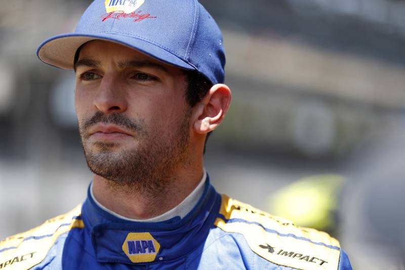 Verizon IndyCar Series IndyCar Grand Prix Indianapolis Motor Speedway, Indianapolis, IN USA Friday 12 May 2017 Alexander Rossi, Andretti Herta Autosport with Curb-Agajanian Honda World Copyright: Michael L. Levitt LAT Images