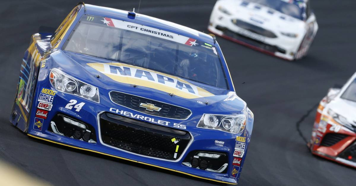 Elliott, No. 24 Team's 600 Ends Prematurely After Early-Race Incident