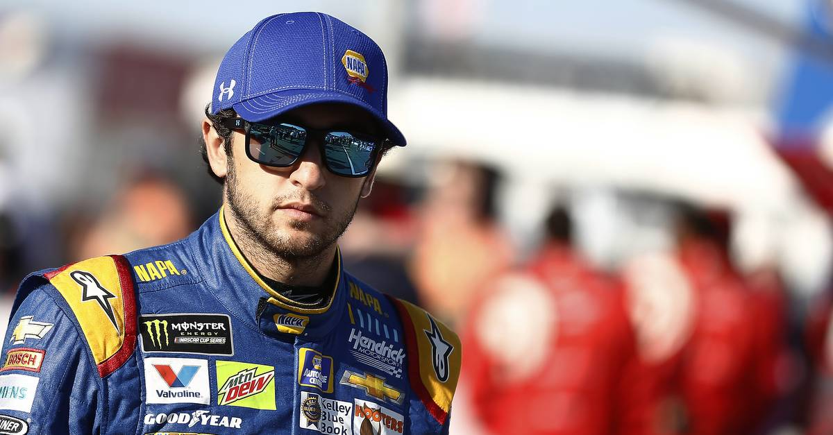 Monster Energy NASCAR Cup Series Go Bowling 400 Kansas Speedway, Kansas City, KS USA Saturday 13 May 2017 Chase Elliott, Hendrick Motorsports, NAPA Chevrolet SS World Copyright: Brett Moist NKP
