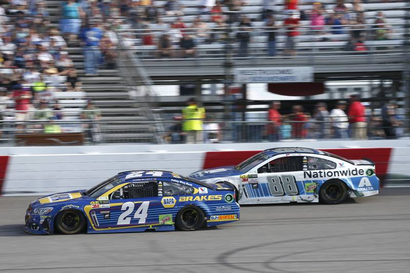 Monster Energy NASCAR Cup SeriesToyota Owners 400Richmond International Raceway, Richmond, VA USASunday 30 April 2017Chase Elliott, Hendrick Motorsports, NAPA Brakes Chevrolet SSWorld Copyright: Matthew T. ThackerNKP