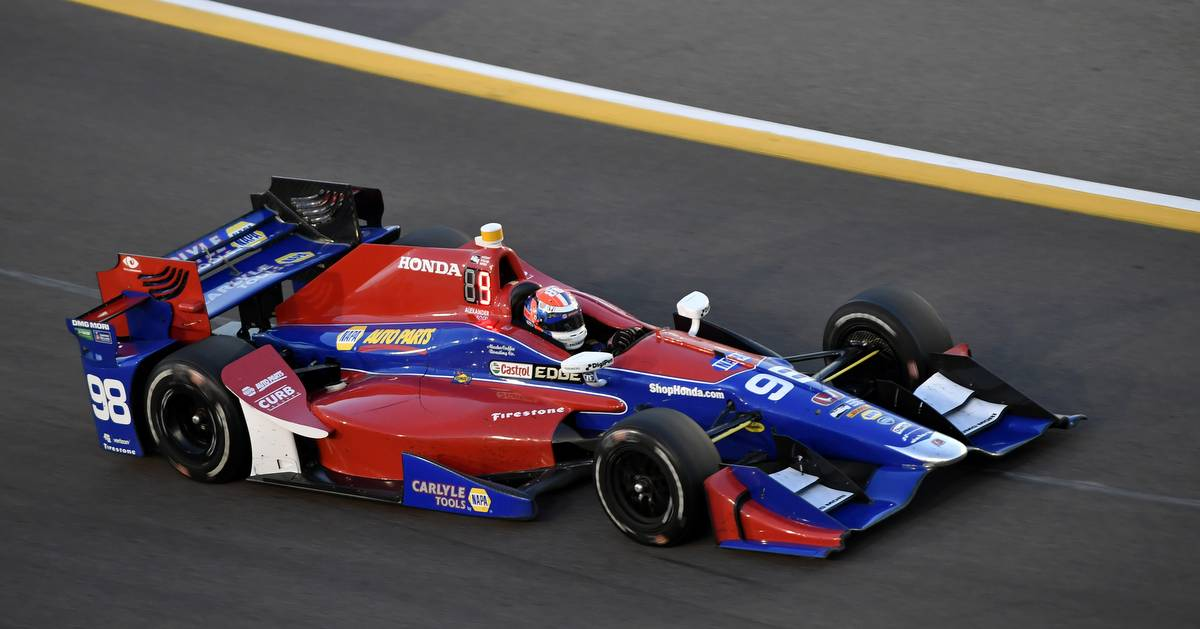 Verizon IndyCar Series Desert Diamond West Valley Phoenix Grand Prix Phoenix Raceway, Avondale, AZ USA Saturday 29 April 2017 Alexander Rossi, Andretti Herta Autosport with Curb-Agajanian Honda World Copyright: Scott R LePage LAT Images ref: Digital Image lepage-170429-phx-3392