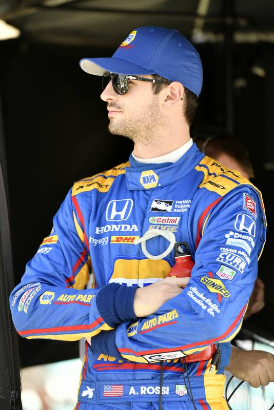 Verizon IndyCar Series Desert Diamond West Valley Phoenix Grand Prix Phoenix Raceway, Avondale, AZ USA Friday 28 April 2017 Alexander Rossi, Andretti Herta Autosport with Curb-Agajanian Honda World Copyright: Scott R LePage LAT Images ref: Digital Image lepage-170428-phx-261