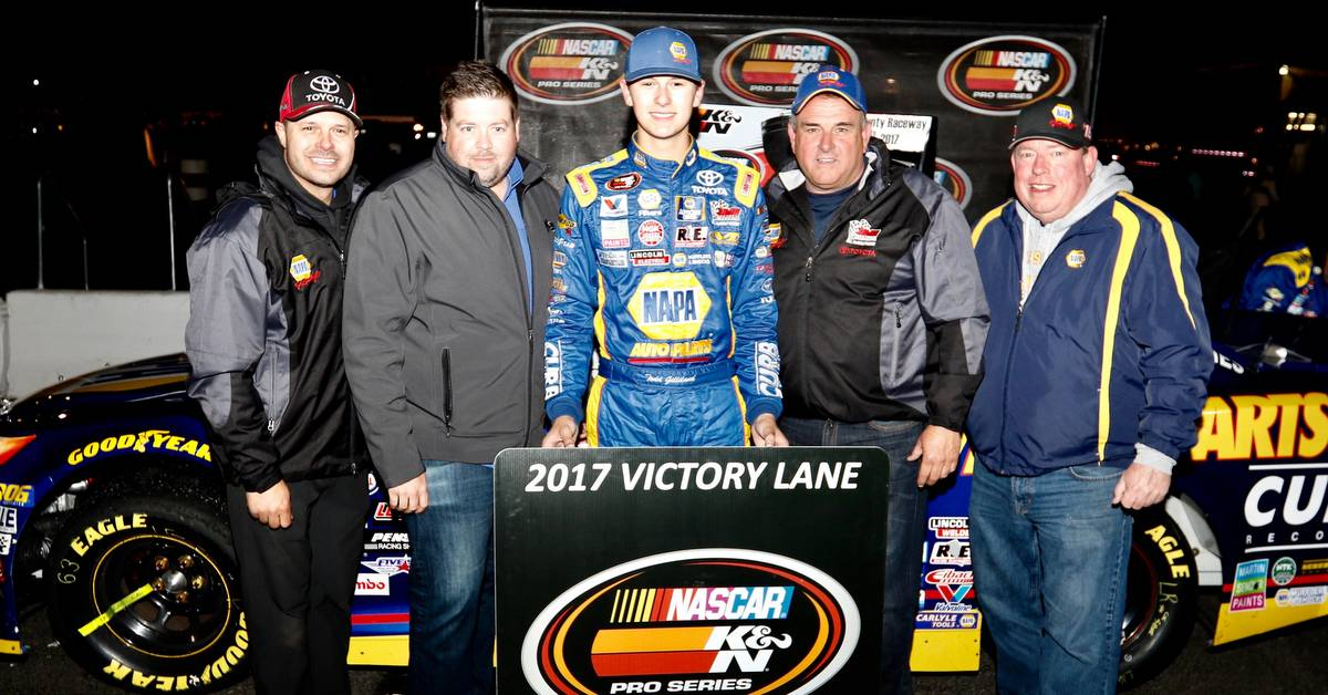 Gilliland, BMR Dominate K&N West Competition at Spokane County Raceway