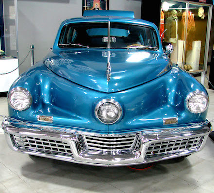 Tucker 48 with some strange car options -- Rennett Stowe