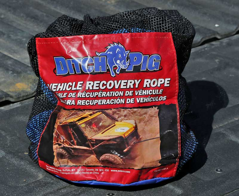 DitchPig® recovery rope