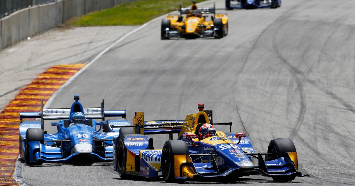 Verizon IndyCar Series Kohler Grand Prix Road America, Elkhart Lake, WI USA Sunday 25 June 2017 Alexander Rossi, Andretti Herta Autosport with Curb-Agajanian Honda World Copyright: Phillip Abbott LAT Images ref: Digital Image abbott_elkhart_0617_7498