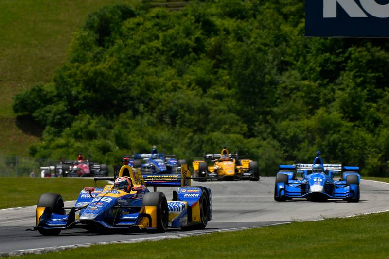 Verizon IndyCar Series Kohler Grand Prix Road America, Elkhart Lake, WI USA Sunday 25 June 2017 Alexander Rossi, Andretti Herta Autosport with Curb-Agajanian Honda World Copyright: Scott R LePage LAT Images ref: Digital Image lepage-170625-ra-1485