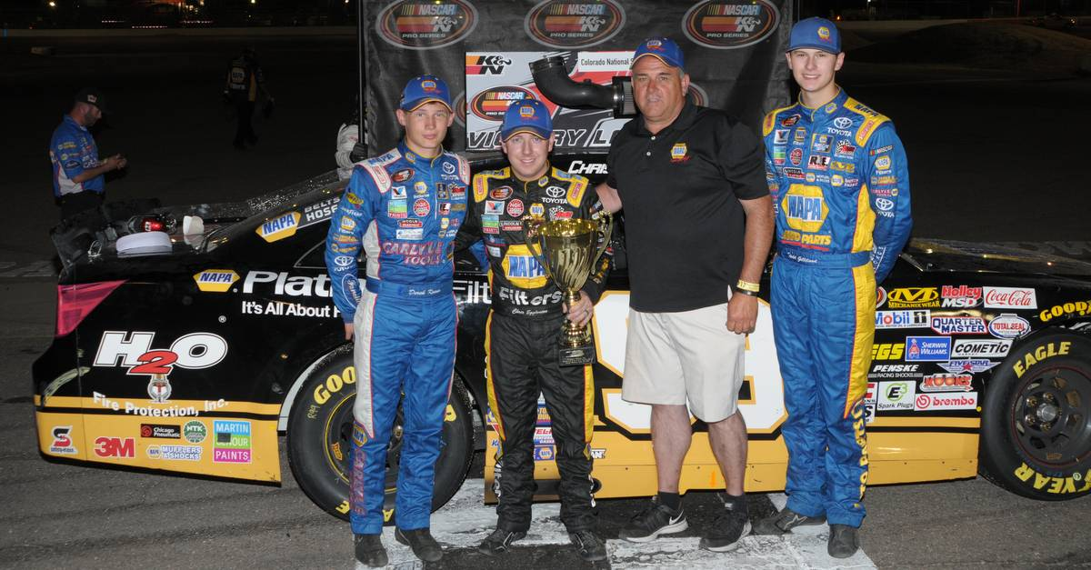 Gilliland Takes Third as BMR Sweeps Top Three Spots in NAPA/Toyota 150 at Colorado