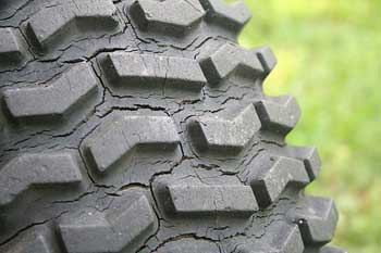 tire cracking