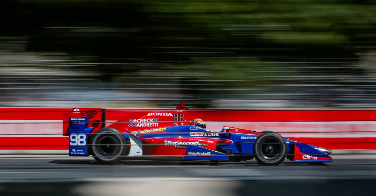 Verizon IndyCar SeriesHonda Indy TorontoToronto, ON CANSunday 16 July 2017Alexander Rossi, Andretti Herta Autosport with Curb-Agajanian HondaWorld Copyright: Jake GalstadLAT Images