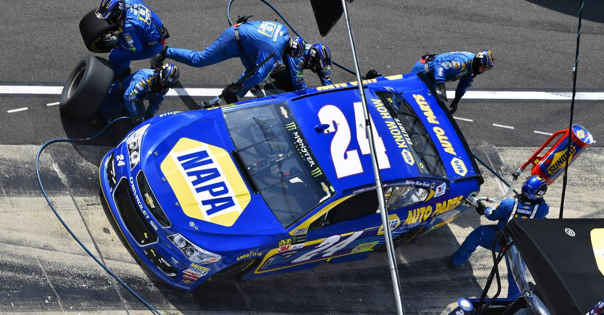 Elliott, No. 24 Team's Day Ends Early at Indianapolis