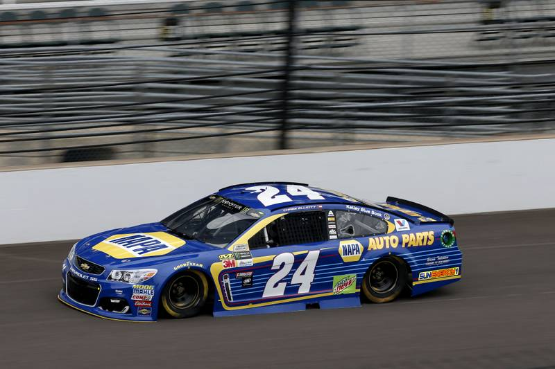 Monster Energy NASCAR Cup SeriesBrickyard 400Indianapolis Motor Speedway, Indianapolis, IN USASaturday 22 July 2017Chase Elliott, Hendrick Motorsports, NAPA Chevrolet SSWorld Copyright: Matthew T. ThackerNKP
