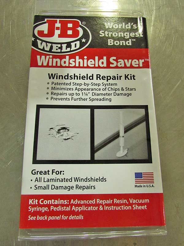 "JB Weld even has a simple to use kit for fixing rock chips in your <a href=""https://www.napaonline.com/en/p/NCB2100?cid=social_blog_072017_JB_Weld"" target=""_blank"" rel=""noopener noreferrer"">windshield</a>."