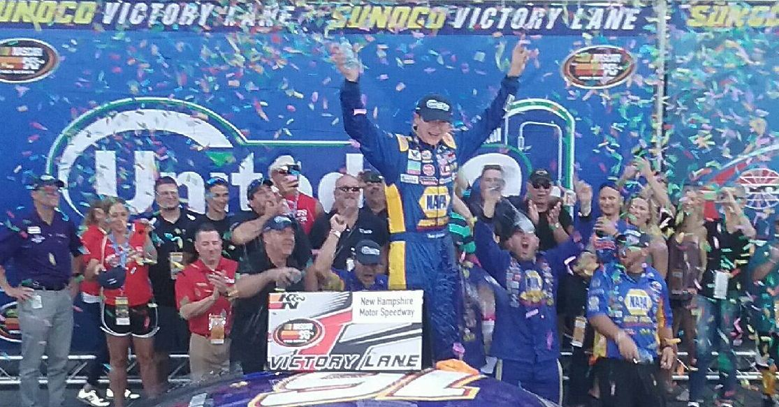Gilliland Dominates Competition in Winning K&N East Event at New Hampshire