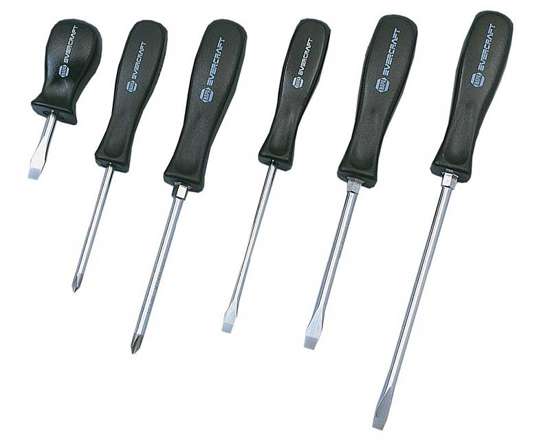 "A <a href=""https://www.napaonline.com/en/p/BK_7760501"" target=""_blank"" rel=""noopener noreferrer"">set of screwdrivers like this</a> is a good way to go, and you can always store a couple in the box and keep the others in the kitchen or garage."