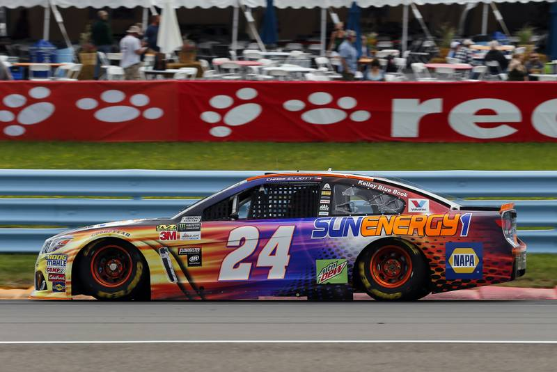 Monster Energy NASCAR Cup Series I LOVE NEW YORK 355 at The Glen Watkins Glen International, Watkins Glen, NY USA Saturday 5 August 2017 Chase Elliott, Hendrick Motorsports, SunEnergy1 Chevrolet SS World Copyright: Russell LaBounty NKP