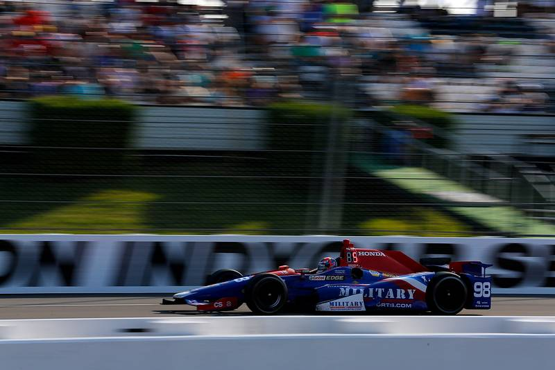 Verizon IndyCar SeriesABC Supply 500Pocono Raceway, Long Pond, PA USASunday 20 August 2017Alexander Rossi, Curb Andretti Herta Autosport with Curb-Agajanian HondaWorld Copyright: Phillip AbbottLAT Imagesref: Digital Image abbott_pocono_0817_7518