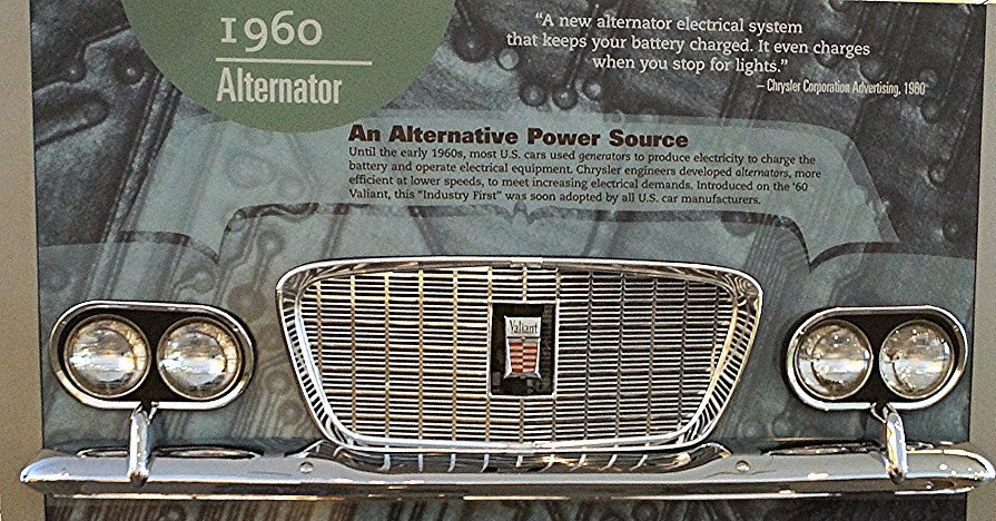 Alternator display
