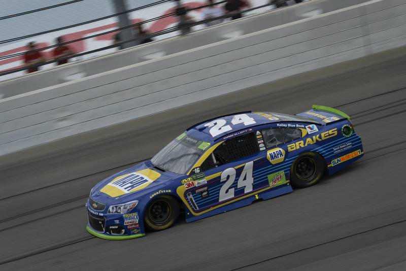 Monster Energy NASCAR Cup Series Tales of the Turtles 400 Chicagoland Speedway, Joliet, IL USA Sunday 17 September 2017 Chase Elliott, Hendrick Motorsports, NAPA Brakes Chevrolet SS World Copyright: Logan Whitton NKP