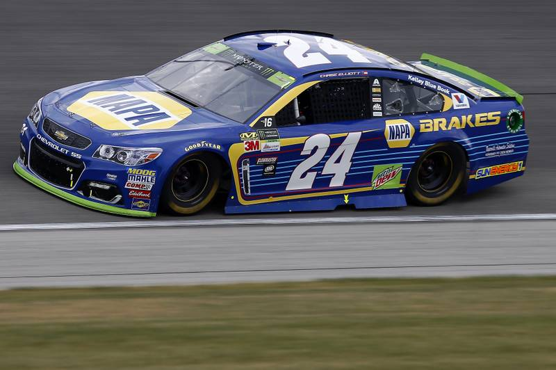 Monster Energy NASCAR Cup Series Tales of the Turtles 400 Chicagoland Speedway, Joliet, IL USA Sunday 17 September 2017 Chase Elliott, Hendrick Motorsports, NAPA Brakes Chevrolet SS World Copyright:Brett Moist NKP