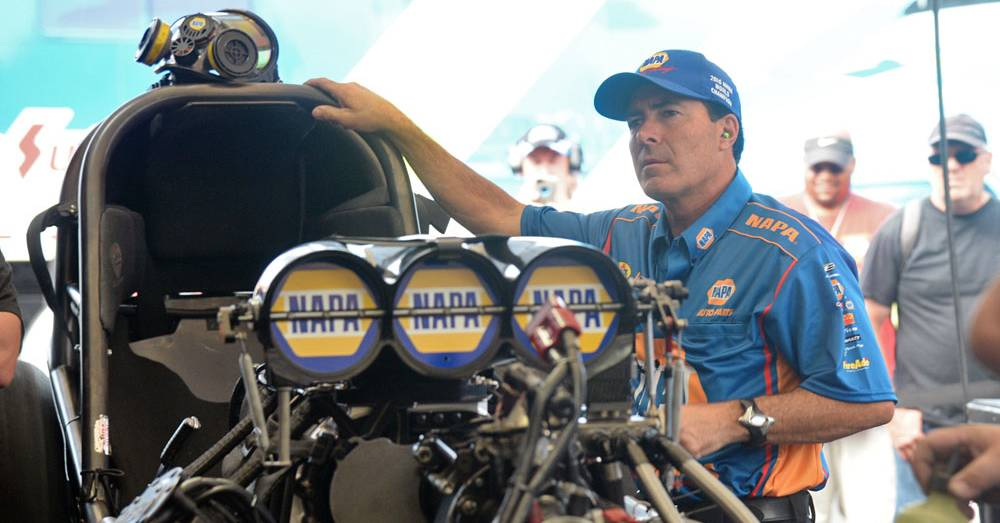 World Champ Capps Drops from NHRA Points Lead at Charlotte