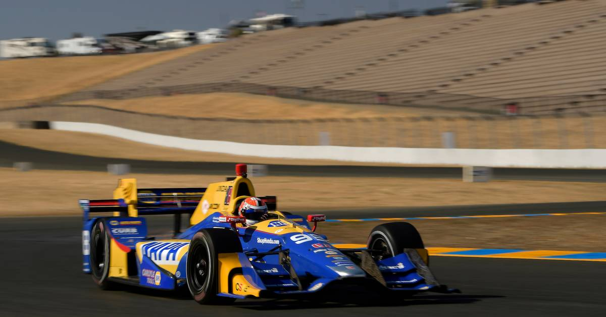 Rossi Ends 2017 IndyCar Season Top Seven in Points