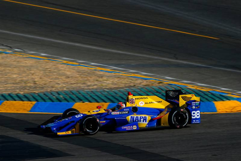 Verizon IndyCar Series GoPro Grand Prix of Sonoma Sonoma Raceway, Sonoma, CA USA Sunday 17 September 2017 Alexander Rossi, Curb Andretti Herta Autosport with Curb-Agajanian Honda World Copyright: Jake Galstad LAT Images