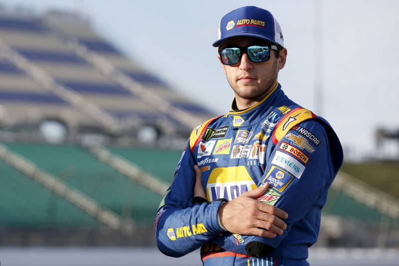Monster Energy NASCAR Cup SeriesHollywood Casino 400Kansas Speedway, Kansas City, KS USAFriday 20 October 2017Chase Elliott, Hendrick Motorsports, NAPA Chevrolet SSWorld Copyright: Matthew T. ThackerNKP