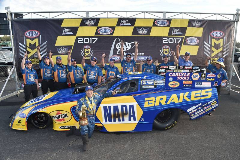 Ron Capps NAPA Funny Car, Capps Makes It Two Straight with Eighth Win of 2017 Season, NAPA Know How Blog, NAPA Know How Blog