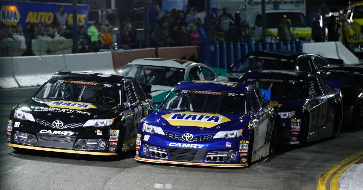 Todd Gilliland Meridian Speedway 2017 NASCAR K&N Pro Series West NAPA Front Row