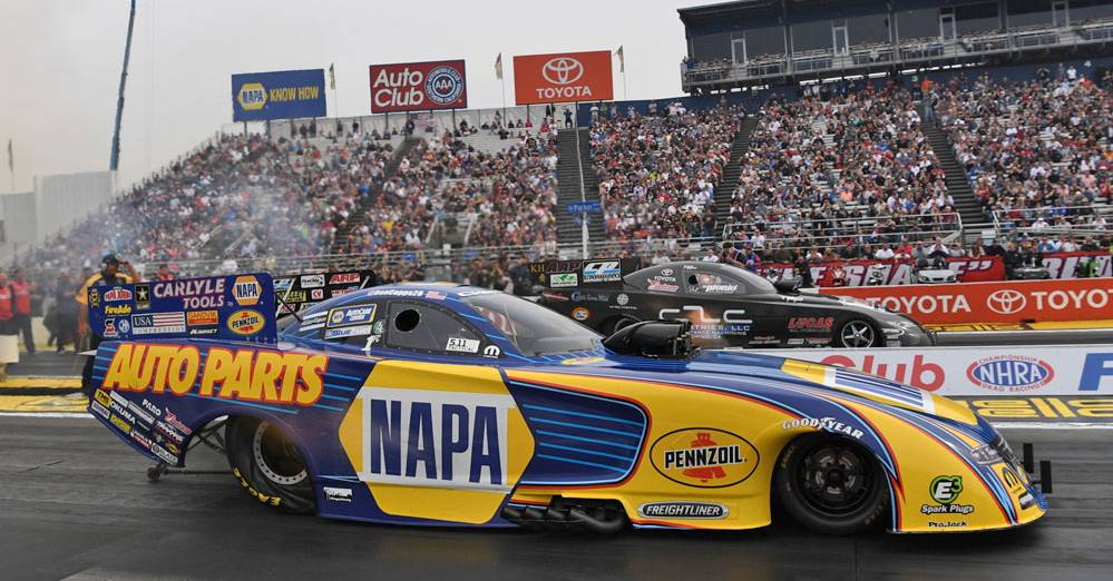 Capps Comes Up Short of Defending his NHRA World Championship at Pomona