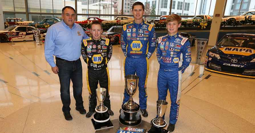 BMR Teams Honored At NASCAR Championship Awards Ceremony