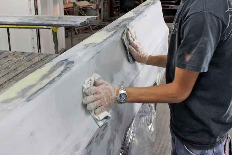 The trick with wax and grease remover for paint prep is to use two towels- one to wipe the cleaner on, and a dry towel to buff it dry. This is important for a fisheye-free paint job.