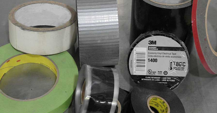 different kinds of tape