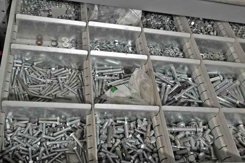 Nuts, bolts, washers, and lockers, every DIY mechanic should have at least the bare minimum assortment of commonly used fasteners in the garage. You may not keep every size you will ever need, but the basics will save you a trip to the local NAPA when you are in the middle of a repair.