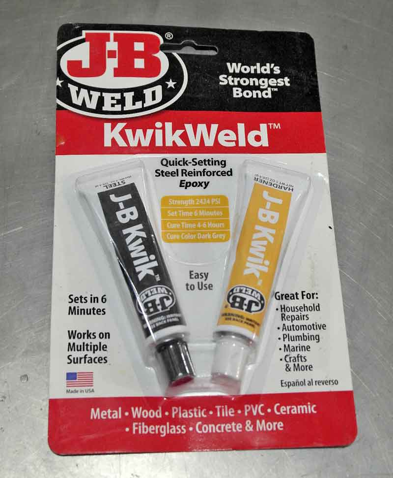 Oops, that part you are repairing just had a mounting tab break. No worries, bust out the JB Weld and fix it up nice.
