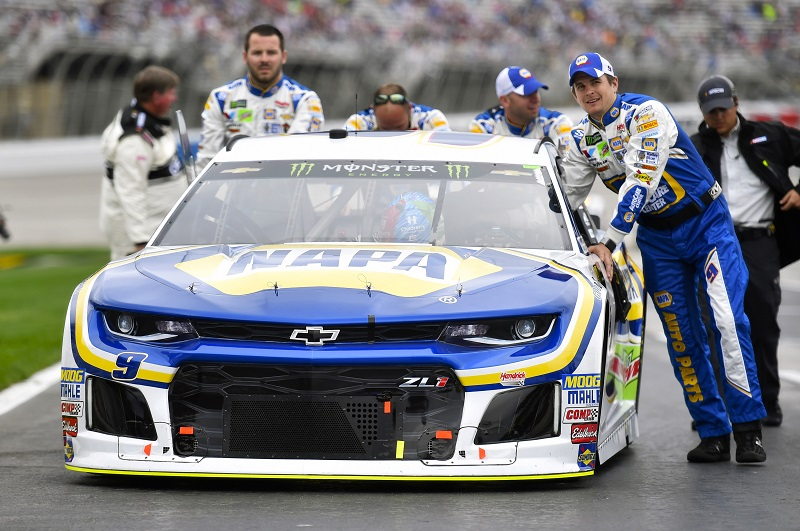 Monster Energy NASCAR Cup Series Folds of Honor Quik Trip 500 Atlanta Motor Speedway, Hampton, GA USA Sunday 25 February 2018 Chase Elliott, Hendrick Motorsports, NAPA Auto Parts Chevrolet Camaro World Copyright: Nigel Kinrade NKP