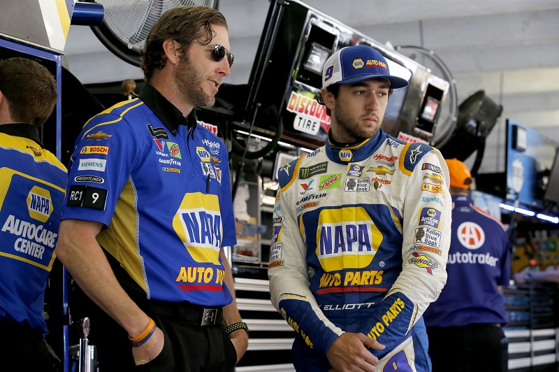 Monster Energy NASCAR Cup Series Folds of Honor Quik Trip 500 Atlanta Motor Speedway, Hampton, GA USA Friday 23 February 2018 Chase Elliott, Hendrick Motorsports, NAPA Auto Parts Chevrolet Camaro Alan Gustafson World Copyright: Matthew T. Thacker NKP